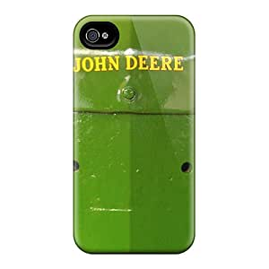 DannyLCHEUNG Iphone 4/4s Shock Absorption Cell-phone Hard Covers Customized Trendy John Deere Skin [lhF19014EDCo]