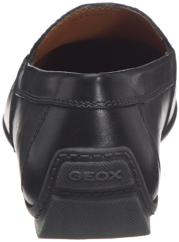 Geox U Moner V, Mocassini Uomo Nero (Blackc9999)