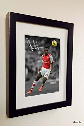Signed Arsenal Danny Welbeck Photo Photograph Picture Frame Autograph Football by Kicks