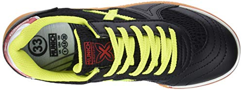 874 Enfant G Mixte Munich Indoor Chaussures Amarillo Fitness Negro 3 de Noir Pqd0B0x7f