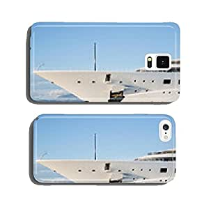 Ship a mega luxury yacht in the water cell phone cover case Samsung S6