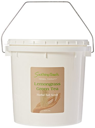 Soothing Touch Salt Scrub (Soothing Touch W67365LG1 Salt Scrub Lemongrass Green Tea, 10-Pound)