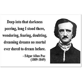 CafePress - Edgar Allan Poe 5 Mini Poster Print - Mini Poster Print