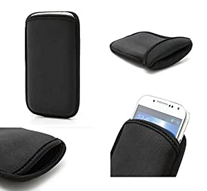DFV mobile - Funda de neopreno diseño exclusivo y calidad premium para > bogo friendly 5dc, color funda negro