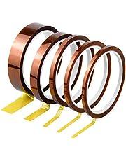 Kapton Tape Hittebestendig plakband elektronica zelfklevende isolatietape hoge temperaturen capton tape 3 mm 5 mm 6 mm 12 mm 20 mm x 33 m
