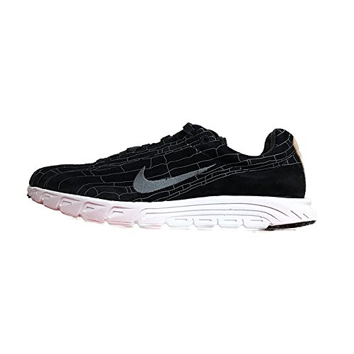 Nike Mayfly Leder PRM Fashion Sneakers Schwarz