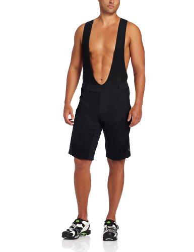 Pearl Izumi Men's Veer Shorts with Bib, Black, Large by Pearl iZUMi