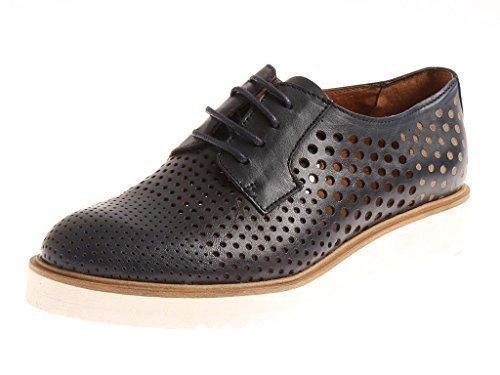 SEGMENTO Sara scarpe lacci lacci Scarpe Azul Scarpe cuoio di con kathamag estive rRvICxqrw