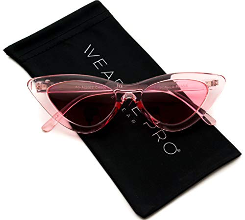 WearMe Pro - Retro Vintage Tinted Lens Cat Eye ()