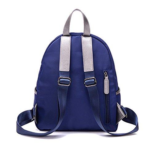 Versión coreana de la mochila de nylon/Bolsa de viaje de ocio simple/Bolso de la lona-D D