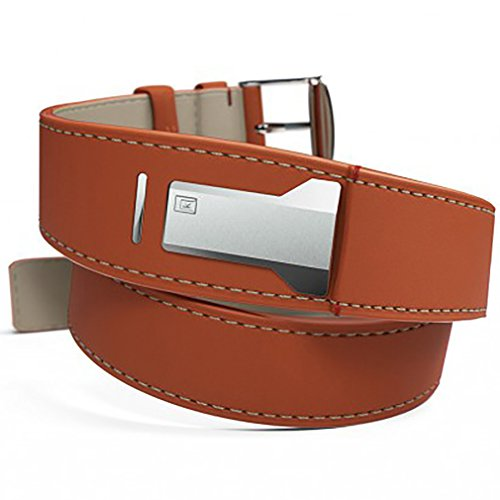 Klokers klink-02 klok-01 klok-02 watchband strap leather orange 420 mm long by klokers