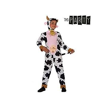Angel Tomas S.A. - Disfraz de vaca infantil, talla 3, 7-9 años ...
