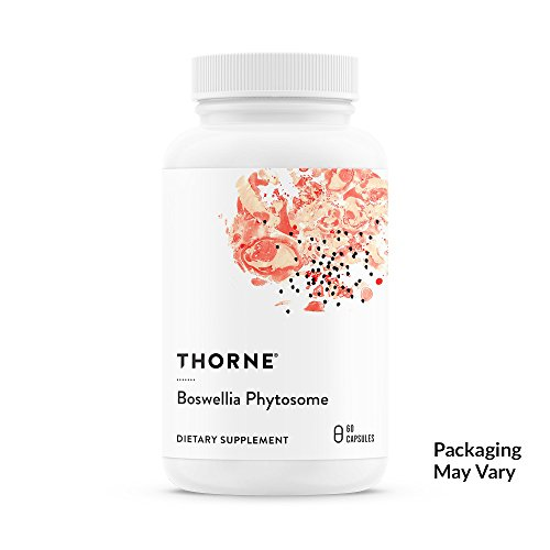 Thorne Research - Boswellia Phytosome - Indian Frankincense (Boswellia Extract) Supplement - 60 Capsules