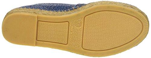 GUESS Glitter Fabric, Zapatillas Altas para Mujer Azul