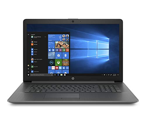 HP 17-inch Laptop, AMD A9-9425 Processor, 4 GB RAM, 1 TB Hard Drive, Windows 10 Home (17-ca0020nr, Chalkboard Gray) (Hp Laptop Computers Windows 7)