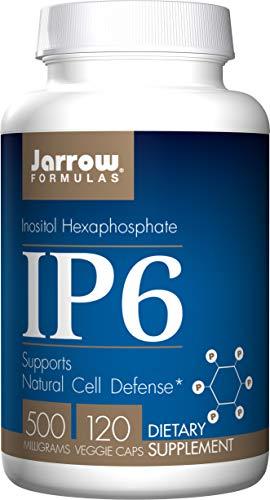 Jarrow Formulas IP6 (Inositol Hexaphosphate), 500mg, 120-Capsules