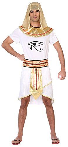 Atosa-39346 Disfraz Egipcio, Color Blanco, ML (39346)