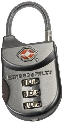 Price comparison product image Briggs & Riley Travel Basics Tsa Cable Lock, Gunmetal, One Size
