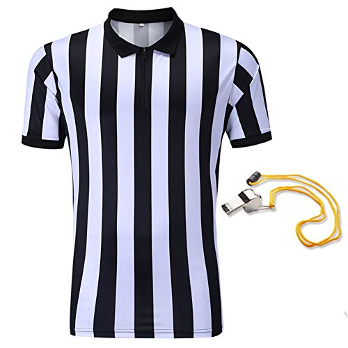 Shinestone Referee Shirts, Men's Basketball Football Soccer