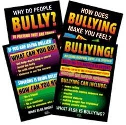 Didax Educational Resources Bullying Posters (Set of 4)