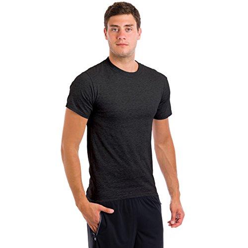 Hanes Men's ComfortBlend Crew Neck T-Shirt (3 Pack)