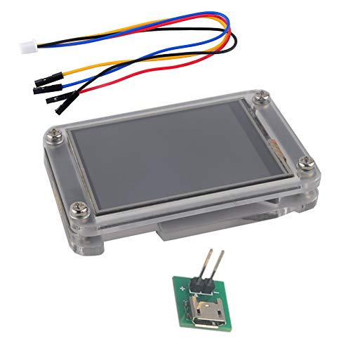 Nextion Enhanced 3.2 inch HMI Touch Display LCD Module with Acrylic Clear Case for Arduino Raspberry Pi