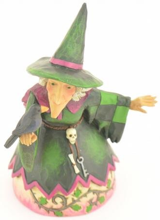 Enesco 4027795 Jim Shore Heartwood Creek Pint Sized Witch Figurine, -