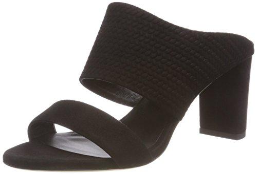 Femme Bl Escarpins Noir Braided 7771 K Lara Bout Ouvert Filippa Mule OtYzHqnw