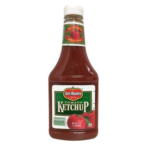 New 802642 Del Monte Ketchup 24Oz (-Pack) Condiments Cheap Wholesale Discount Bulk Food Condiments