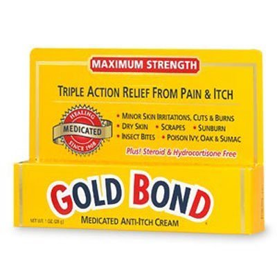 Gold Bond Med. Crm Size 1z Gold Bond Maximum Strength Medicated Anti-Itch Cream