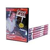 GOOD EATS 12-Pack Alton Brown DVD's Food Network, 12 DVD SET, 36 FULL EPISODES!