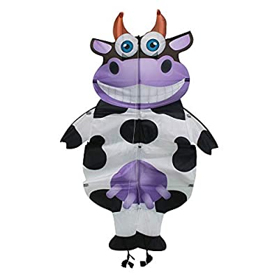 WindNSun Wigglekites Polyester Ripstop Wiggle Cow Kite, 54 inches: Toys & Games