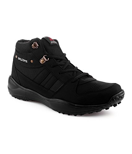 45660350e85 Vonc Welcome Black Sports Shoes  Buy Online at Low Prices in India ...
