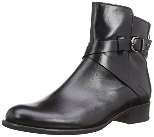 Gabor - 91.641 77, Stivali da Donna Nero (Noir (Black Leather Micro))