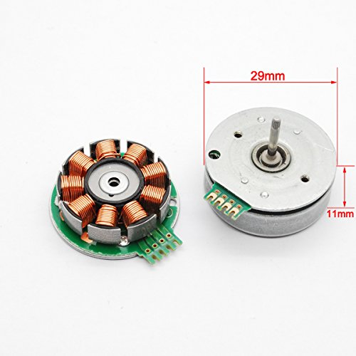 2pcs 4 Wire 3 Phase Brushless Motor Dc Micro Motor Dia