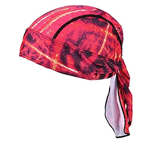 Ponis-Limos - Unisex Outdoor Cycling Cap Head Scarf Quick Dry Bandana Pirate Hat Sport Bicycle Headscarf Gorras Ciclismo For Hiking Cycling - - Amazon.com