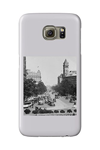 Pennsylvania Avenue from Treasury Building Photograph (Galaxy S6 Cell Phone Case, Slim Barely There)