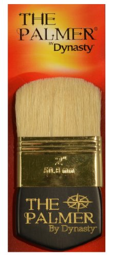 Dynasty Palmer Brush White Bristle 2In ()