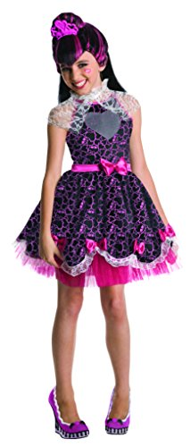 Monster High Sweet 1600 Deluxe Draculaura Costume, (Halloween Costumes Monster High For Kids)