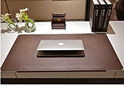 Miyaya Extra Large TPU Desk Mat/Mouse Pad/Ultra-Smooth Writing Pad/Desk Protector/Protective Table Organizer for Desktops and Laptops, 27.5\
