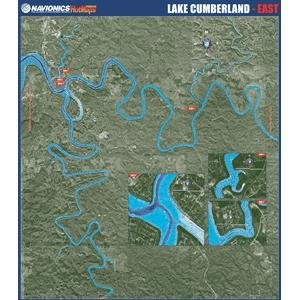 Navionics Paper Map: Lake Cumberland - East (Navionics Paper Map)