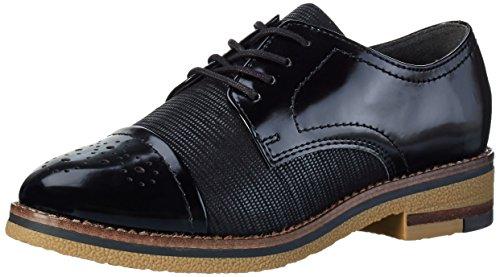 Mujer Marco Cordones De Negro Tozzi Derby Para 23711 Zapatos w77qvxAz0