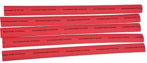 ancor-305648-marine-grade-electrical-adhesive-lined-heat-shrink-tubing-1-2-inch-diameter-48-inches-l