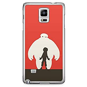 Loud Universe Big Brother Style Samsung Note 4 Case Big Borther Character Samsung Note 4 Cover with Transparent Edges