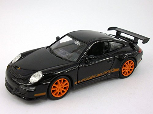 Welly 4.75 inch Porsche 911 / 997 GT3 RS Scale Diecast Model Black
