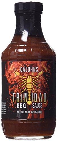 Trinidad Moruga Scorpion BBQ Sauce (16 ounce) (Hot Bbq Sauce)