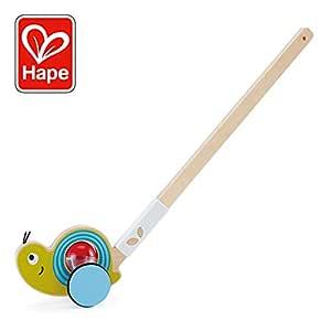 Hape- Andador Caracol, Color Colourful (E0355): Amazon.es ...