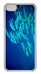 Customized iphone 5C PC Transparent Case - Underwater Maui Hawaii Personalized Cover by mcsharks