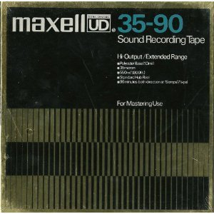 Maxell UD 35-90 Sound Recording Tape