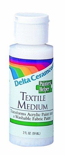 - Ceramcoat Painters Helper Textile Medium-2 Ounces by Plaid Delta